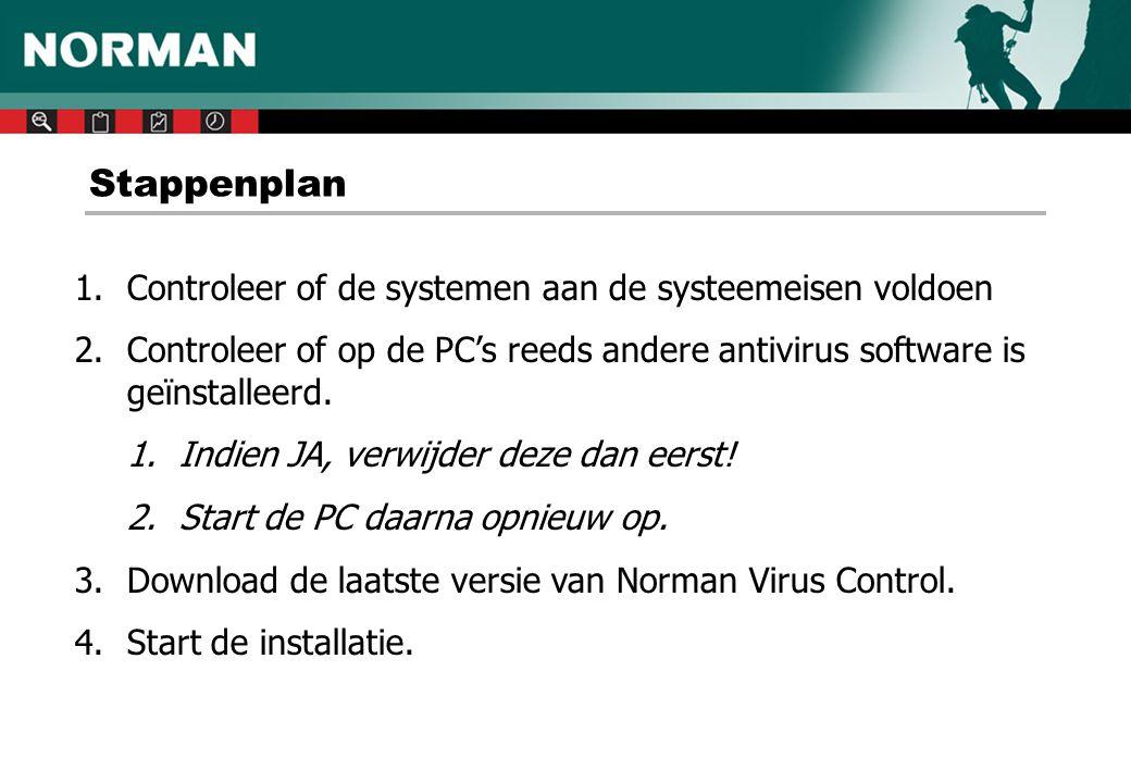 De Norman Services • Norman ZANDA is een automatisch startende service.