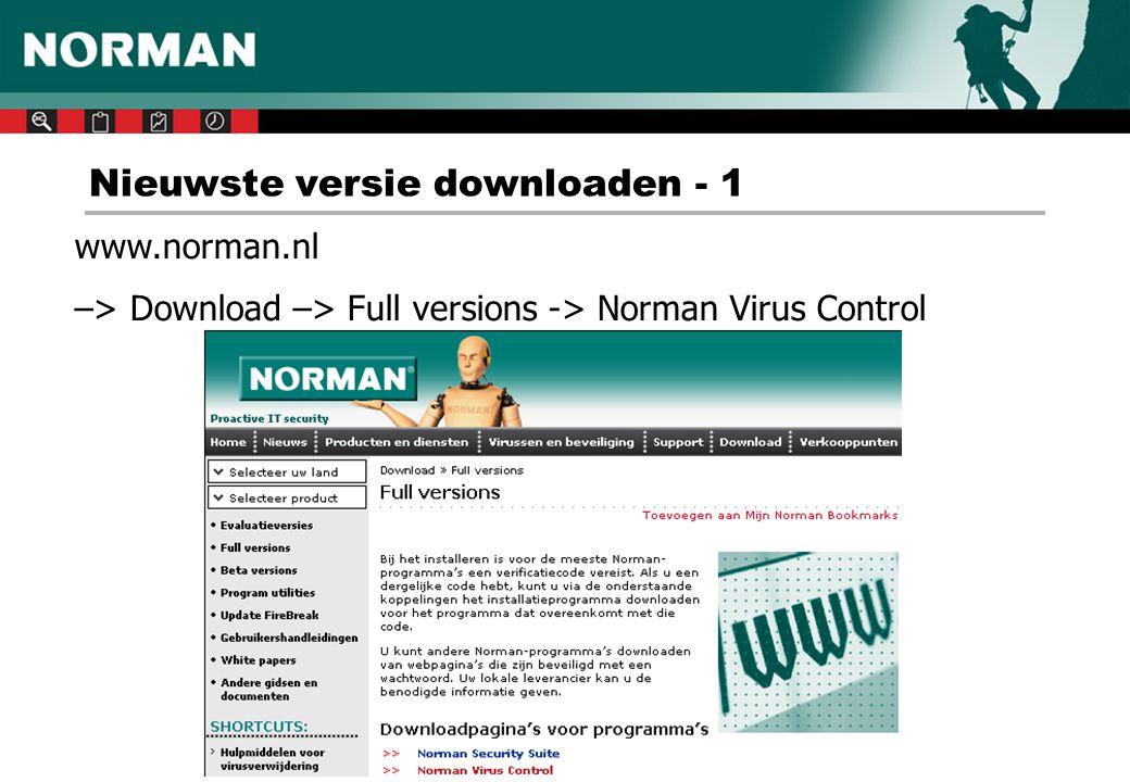 Nieuwste versie downloaden - 2 Kies onder CORPORATE USER VERSION voor de gewenste taalversie: