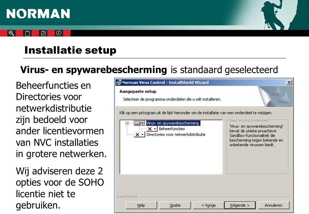 Uitsluiten van scannen - 1 Afhankelijk van de soort server en de geïnstalleerde software Voorbeeld van een Microsoft SBS server met Exchange en SQL