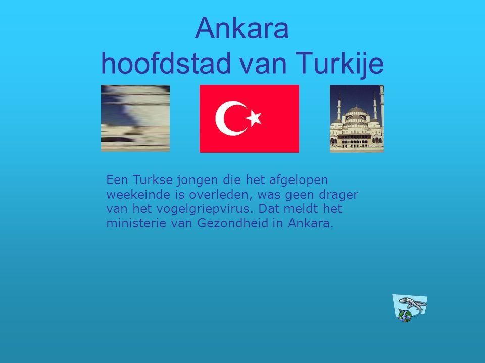 Ankara hoofdstad van Turkije Een Turkse jongen die het afgelopen weekeinde is overleden, was geen drager van het vogelgriepvirus. Dat meldt het minist