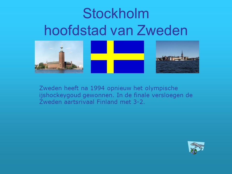 Stockholm hoofdstad van Zweden Zweden heeft na 1994 opnieuw het olympische ijshockeygoud gewonnen. In de finale versloegen de Zweden aartsrivaal Finla