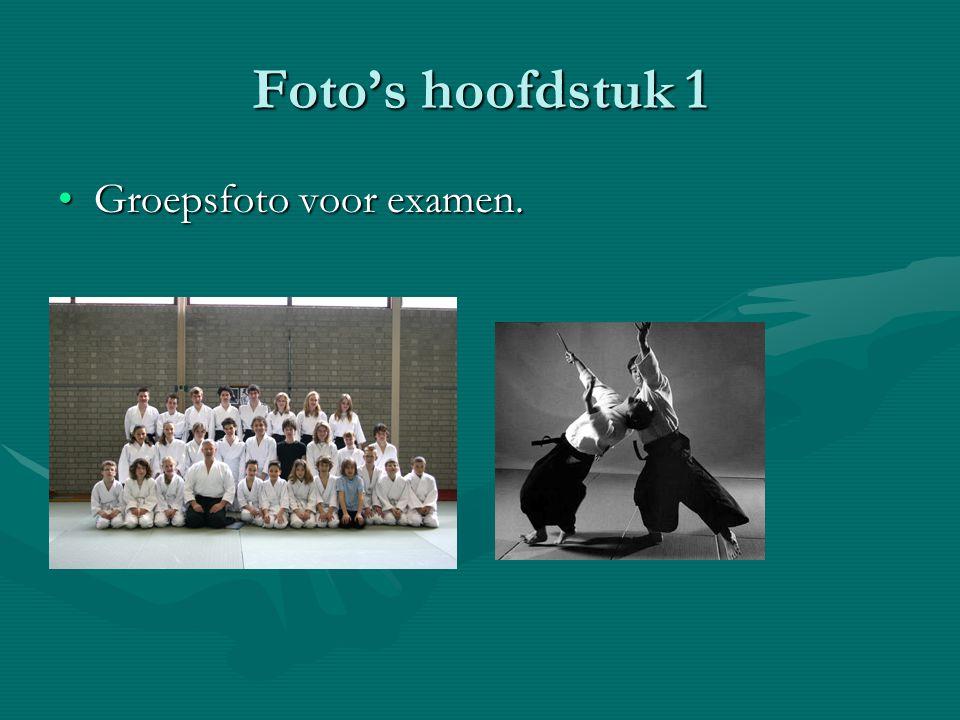 Foto's hoofdstuk 1 •G•G•G•Groepsfoto voor examen.