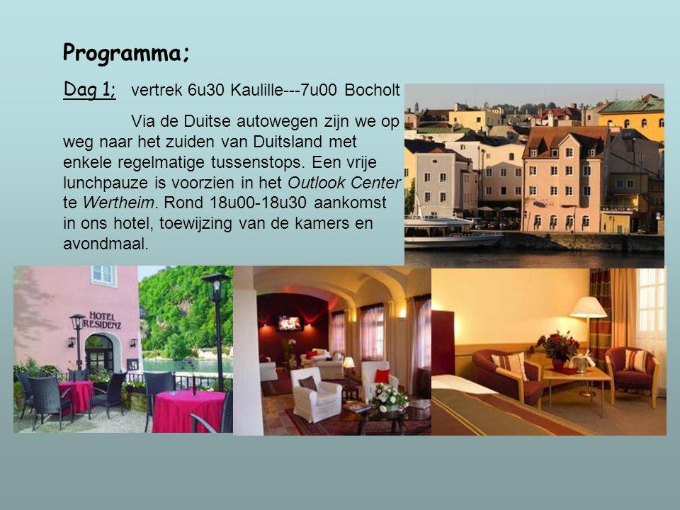 Ons hotel ligt in het historisch centrum van de stad Passau aan de oever van de Donau en is een ideale uitvalsbasis voor het verkennen van de schoonhe