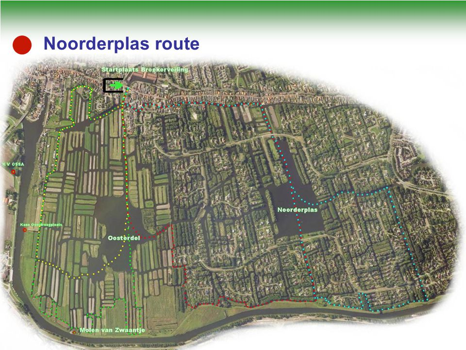 Noorderplas route