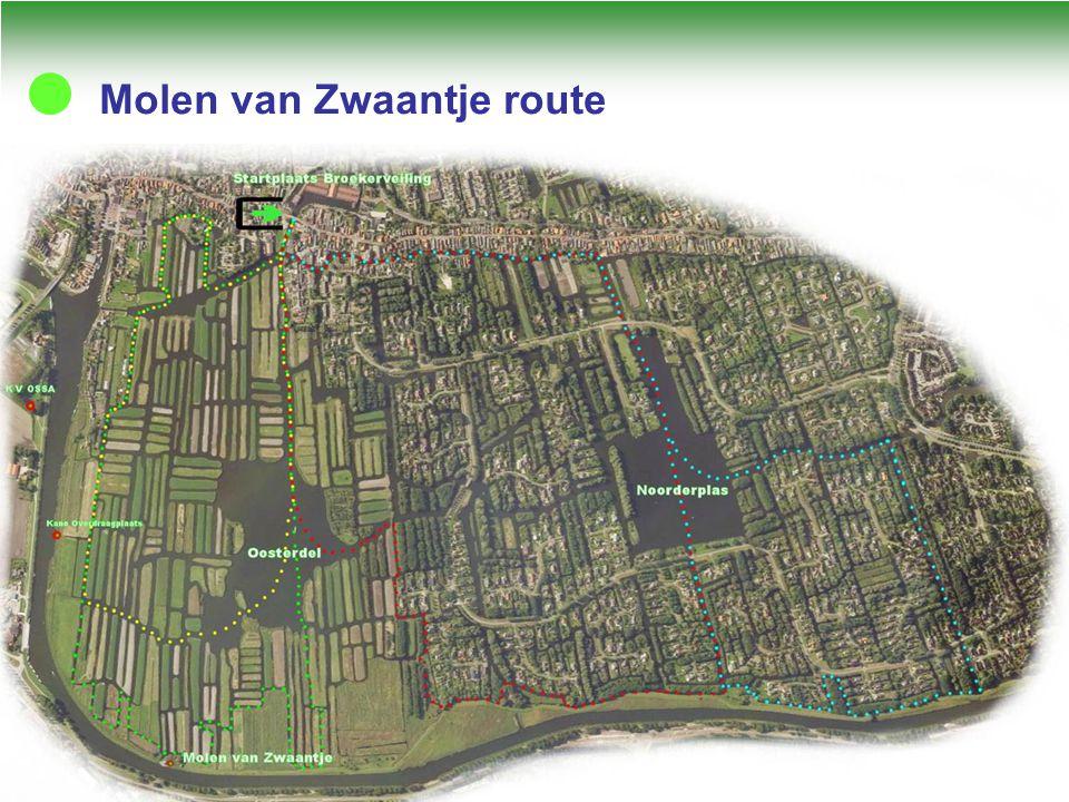 Molen van Zwaantje route