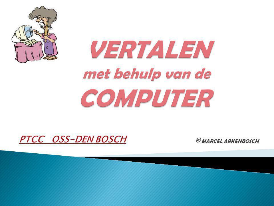 © MARCEL ARKENBOSCH PTCC OSS-DEN BOSCH