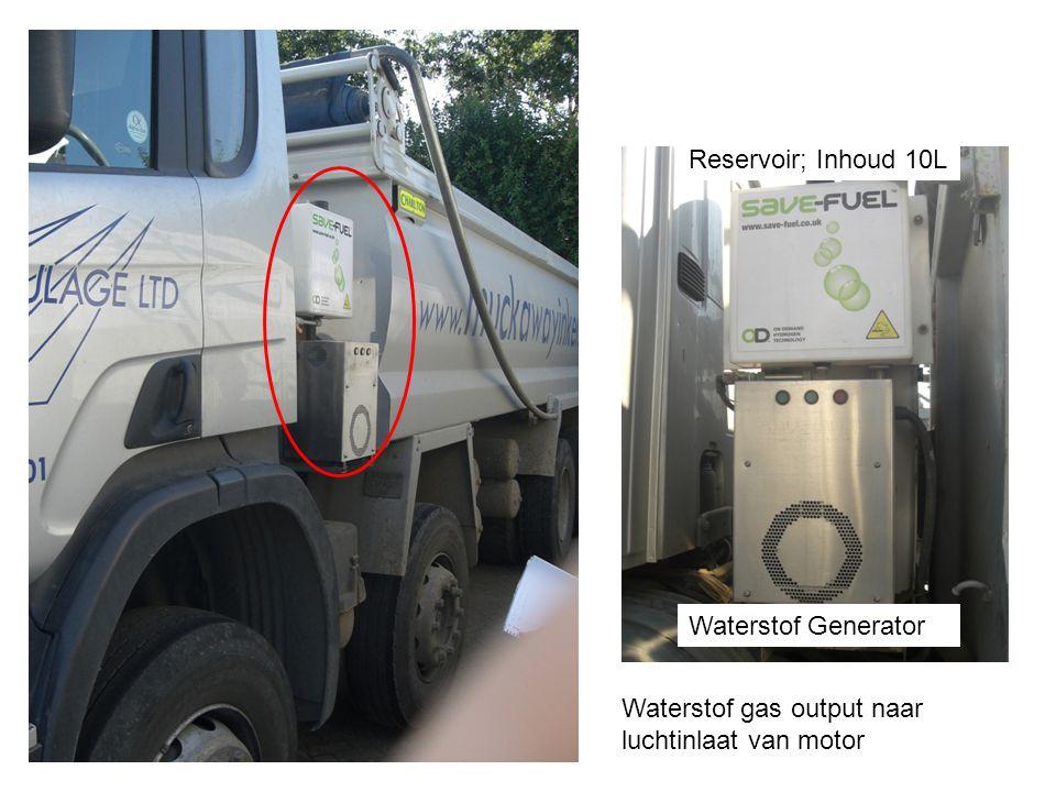 Reservoir; Inhoud 10L Waterstof Generator Waterstof gas output naar luchtinlaat van motor