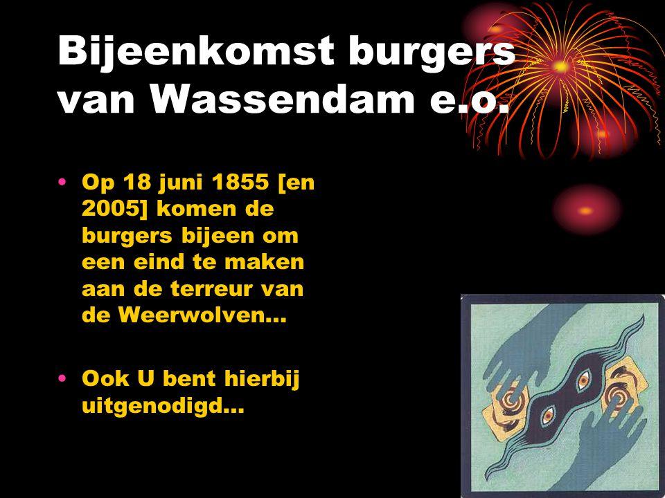 Bijeenkomst burgers van Wassendam e.o.