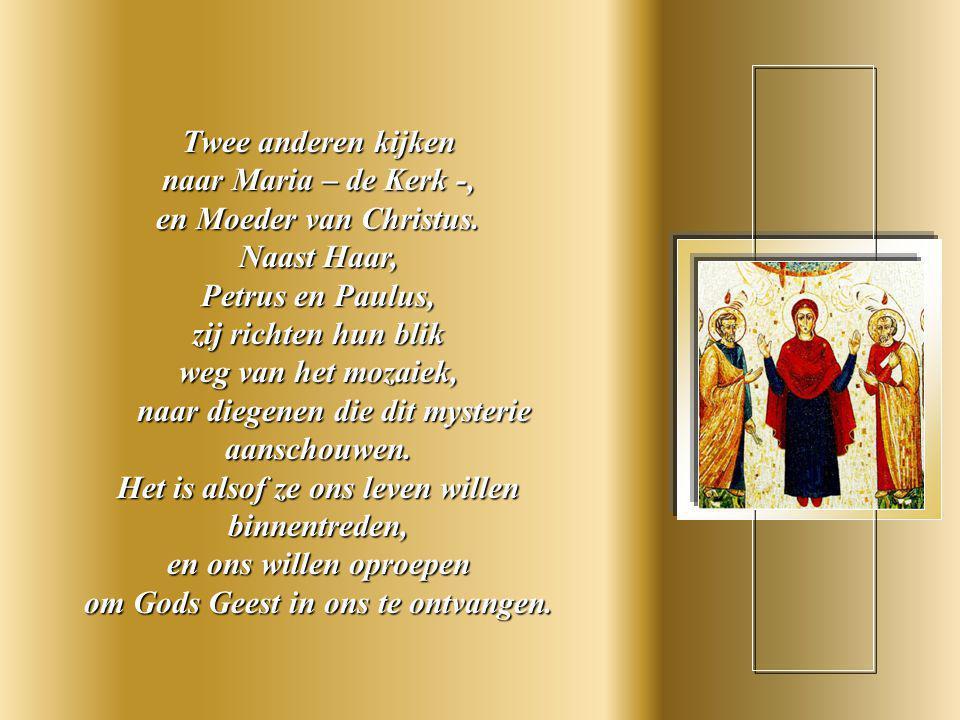 De vier volgende, die in Gods Geest zijn ondergedompeld, kunnen elkaar, in diepe wederkerigheid, van aangezicht tot aangezicht aanschouwen