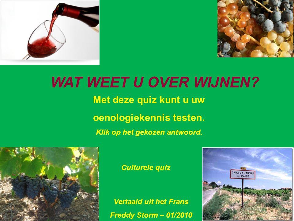 Hoeveel druivensoorten bevat een Châteauneuf-du-Pape ? Een Drie Dertien Vraag 4