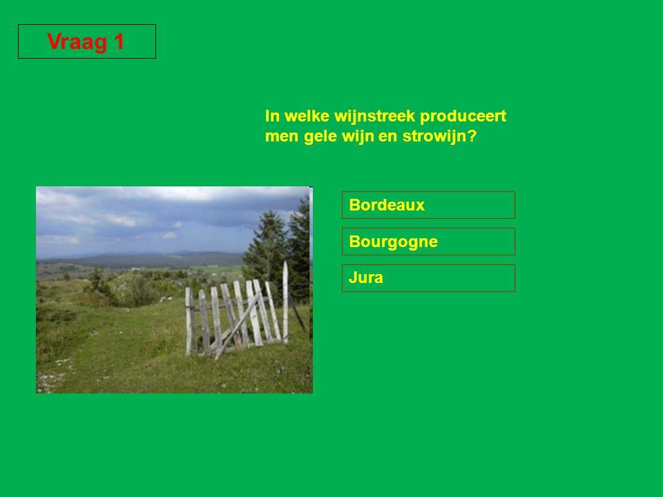 4 GOED : Voor de productie van een CHATEAUNEUF DU PAPE heeft men 13 druivensoorten nodig.