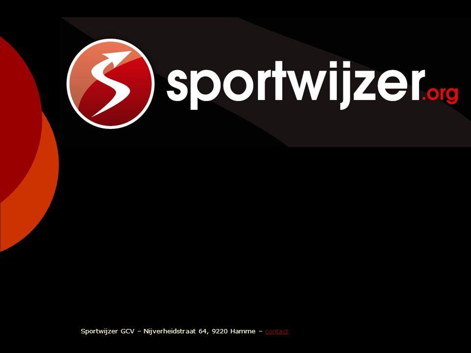 sportwijzer Sportwijzer GCV – Nijverheidstraat 64, 9220 Hamme – contactcontact