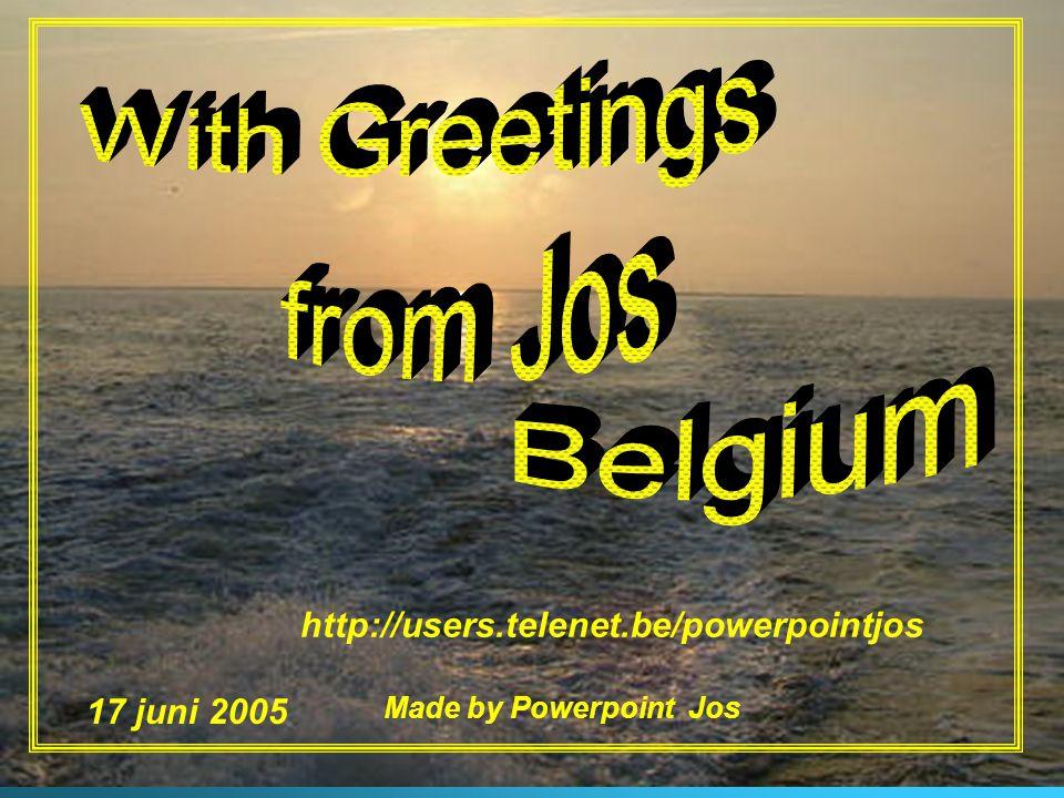 Made by Powerpoint Jos20 Ik kom eraan, ik kom eraan Zee, wind, zon oceaan Ik kom eraan ……….. Ik kom eraan, ik kom eraan Zee, wind, zon oceaan Ik kom e