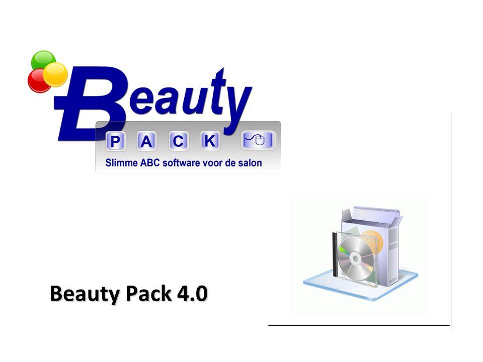 © 2011 Beauty Pack Lijst en selectie vensters