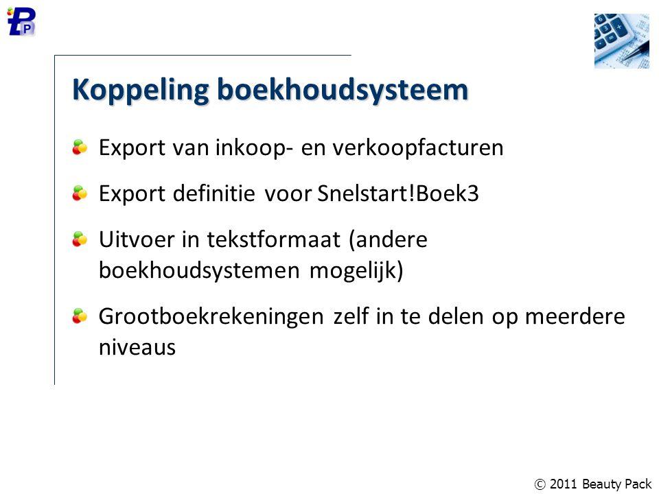 Koppeling boekhoudsysteem Export van inkoop- en verkoopfacturen Export definitie voor Snelstart!Boek3 Uitvoer in tekstformaat (andere boekhoudsystemen
