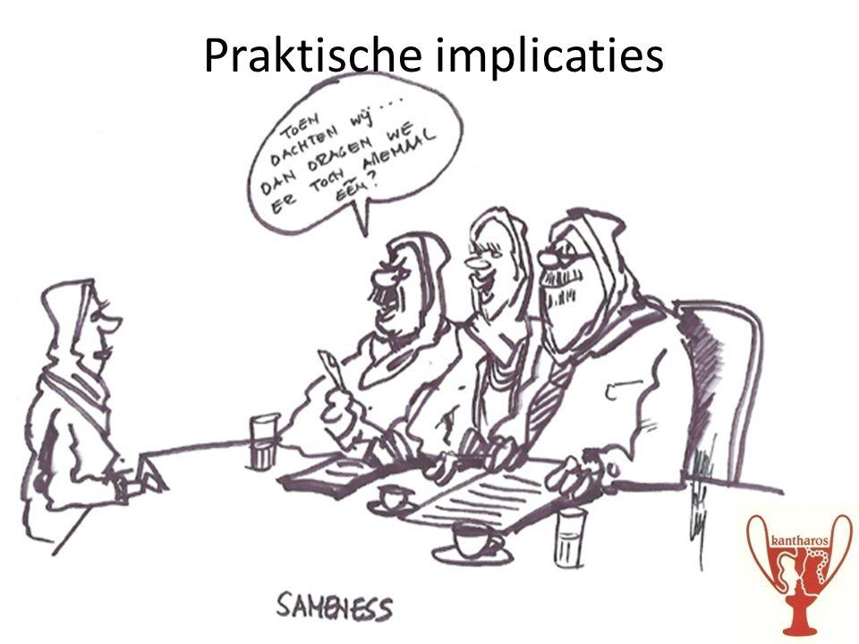 Praktische implicaties