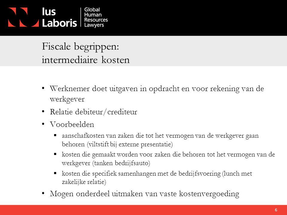 Conclusie • Als werkkostenregeling voordeliger is: snel overstappen.