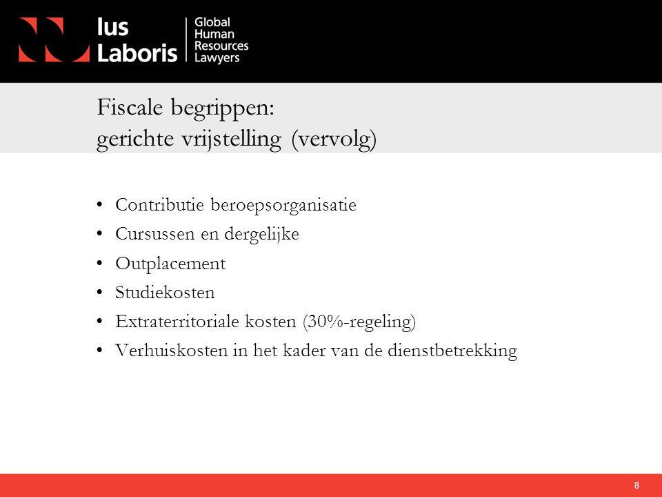 Tijdspad (1) 31 december 2011 Toetsmoment overgangsregeling levensloop (EUR 3.000) 1 januari 2012•Afschaffing levensloop.