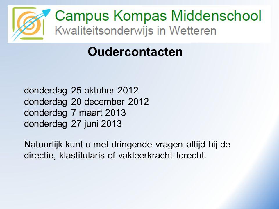 Camus Kompas Kwaliteitsonderwijs in Wetteren Oudercontacten donderdag 25 oktober 2012 donderdag 20 december 2012 donderdag 7 maart 2013 donderdag 27 j