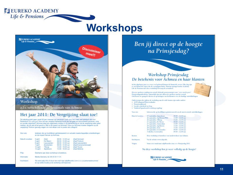 11 Workshops