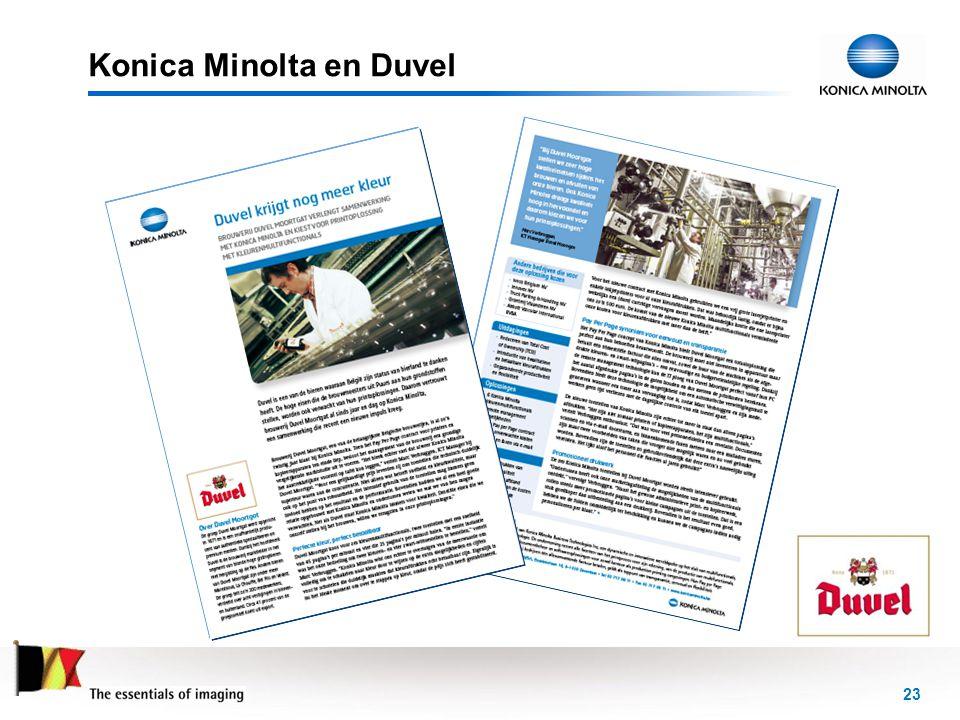 23 Konica Minolta en Duvel
