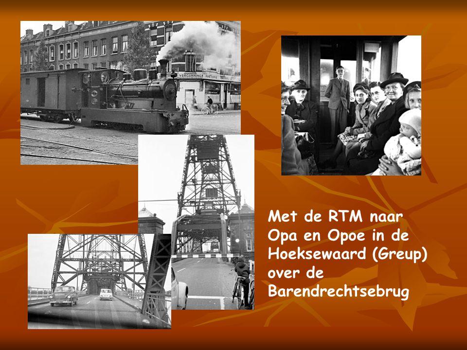 Ook dit is Historie, Als kleine jongen was het een belevenis om voorin naast de trambestuurder te mogen staan