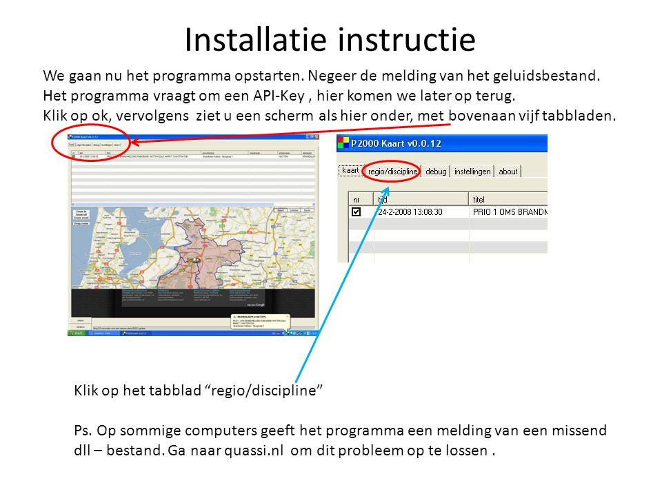 Installatie instructie Na het openen van het bestand, kunt u het programma installeren. De volgende stap, is de update(kaart 0.0.12) installeren. Ga n