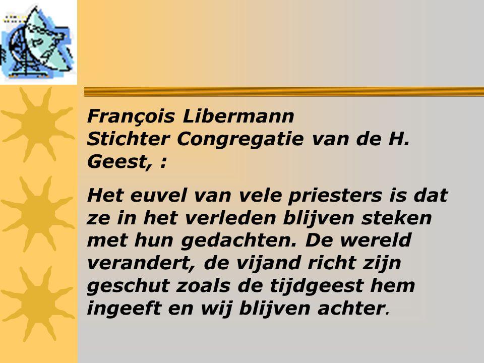 François Libermann Stichter Congregatie van de H.