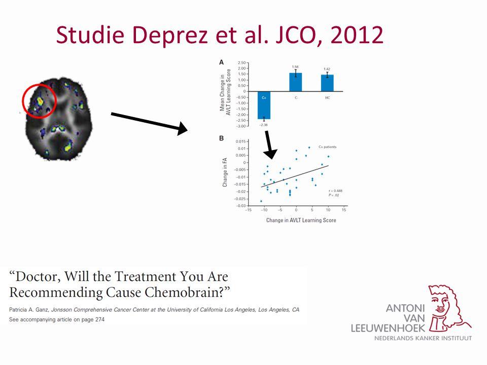 Studie Deprez et al. JCO, 2012