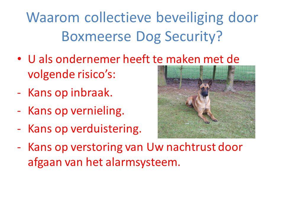 Waarom collectieve beveiliging door Boxmeerse Dog Security.