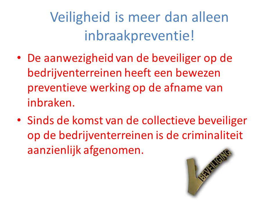 Veiligheid is meer dan alleen inbraakpreventie.