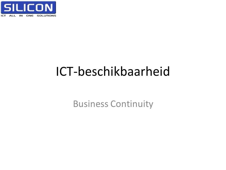ICT-beschikbaarheid Business Continuity