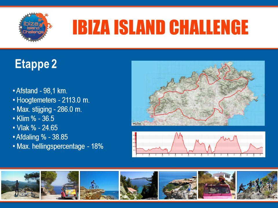 IBIZA ISLAND CHALLENGE - Een onvergetelijke MTB-challenge op het meest hippe eiland van de Middellandse Zee - 250km overweldigende natuurpracht, idylisch stranden en gigantische kliffen - Toegankelijk voor iedereen qua timing - Toegankelijk voor elke gedreven mountainbiker en zijn/haar partner - Ervaren organisatieteam - En dit alles voor een zeer aantrekkelijke prijs.