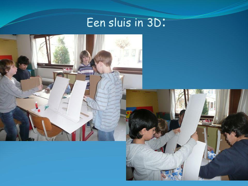 Een sluis in 3D :