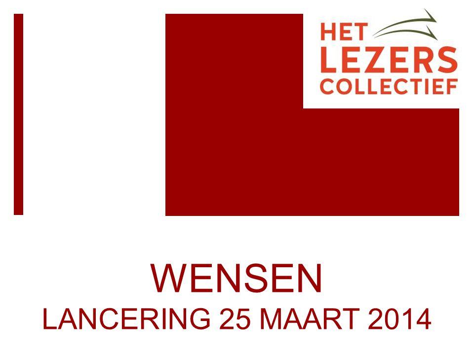 WENSEN LANCERING 25 MAART 2014