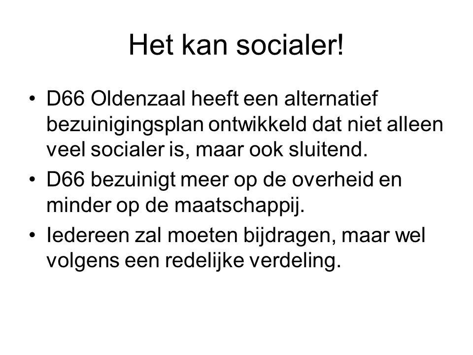 Het kan socialer.