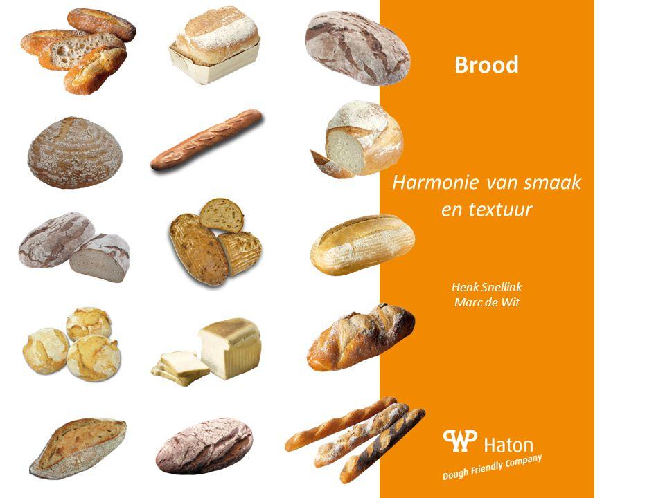 Brood Harmonie van smaak en textuur Henk Snellink Marc de Wit