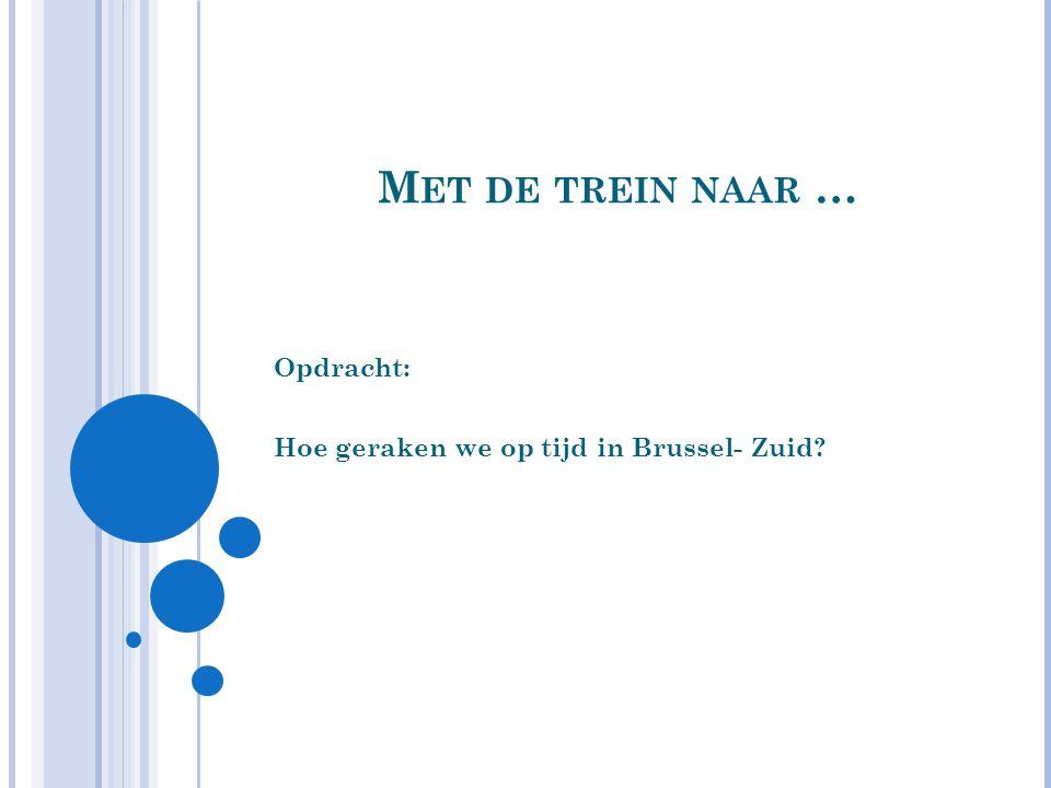 O PDRACHT : Bram gaat op 18 juni met zijn mama en papa naar Brussel.