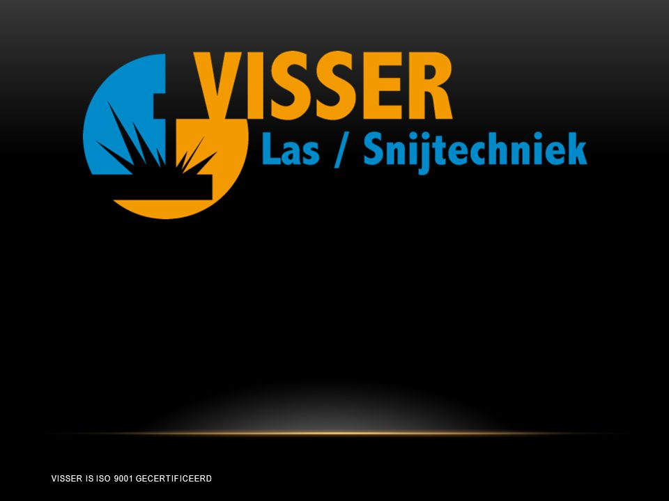VISSER IS ISO 9001 GECERTIFICEERD