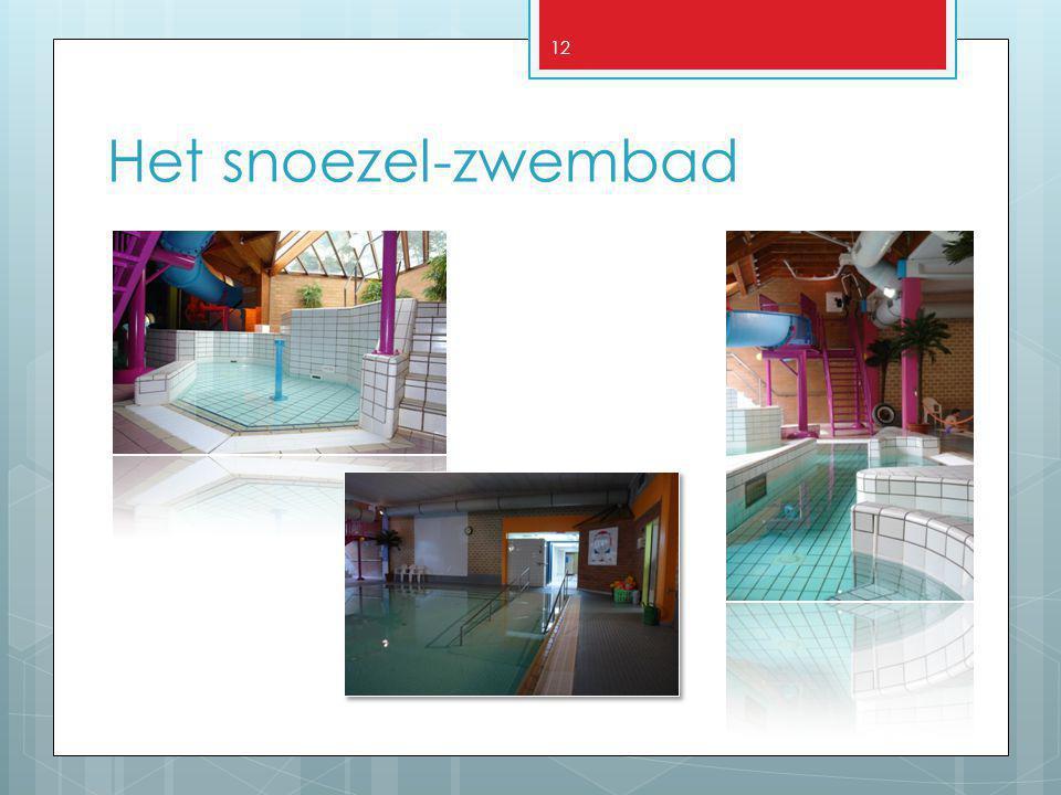 12 Het snoezel-zwembad