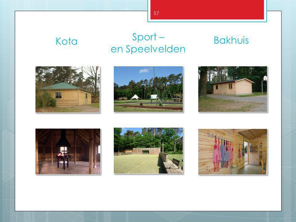 17 Bakhuis Kota Sport – en Speelvelden