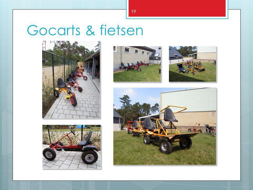 19 Gocarts & fietsen