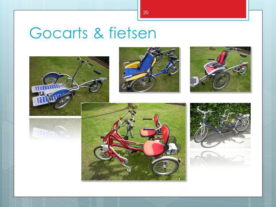 20 Gocarts & fietsen