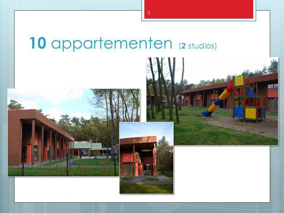 5 10 appartementen ( 2 studios)