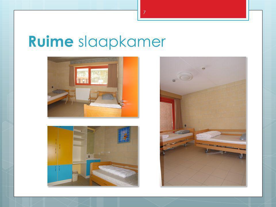 7 Ruime slaapkamer
