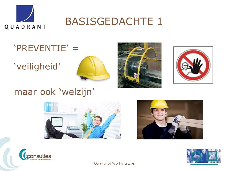 BASISGEDACHTE 2 Quality of Working Life6