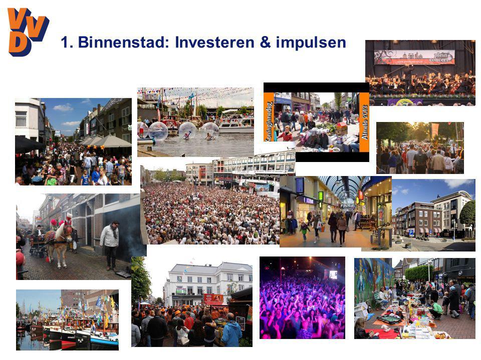 1. Binnenstad: Investeren & impulsen