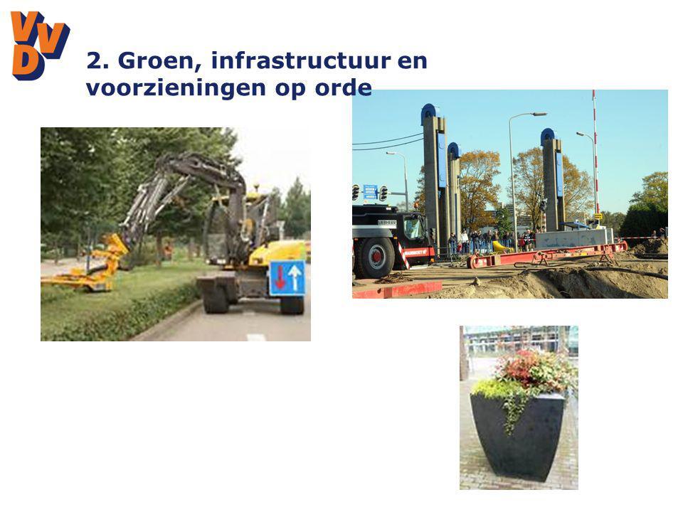 2. Groen, infrastructuur en voorzieningen op orde