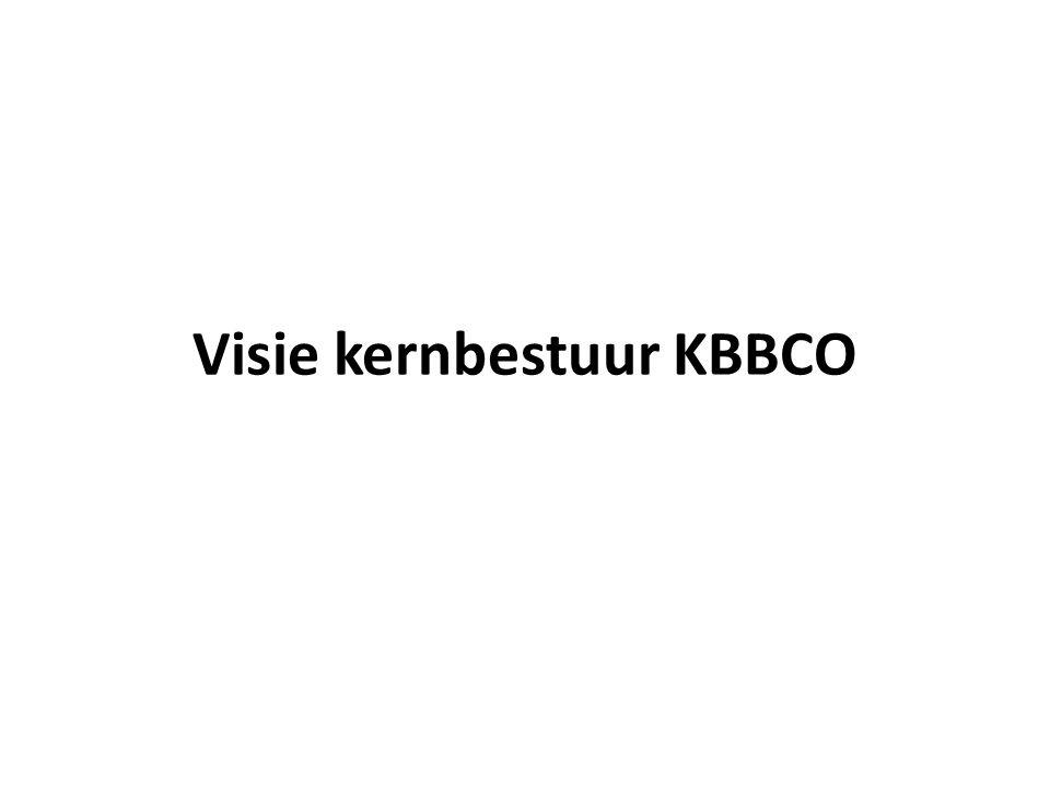 Visie kernbestuur KBBCO