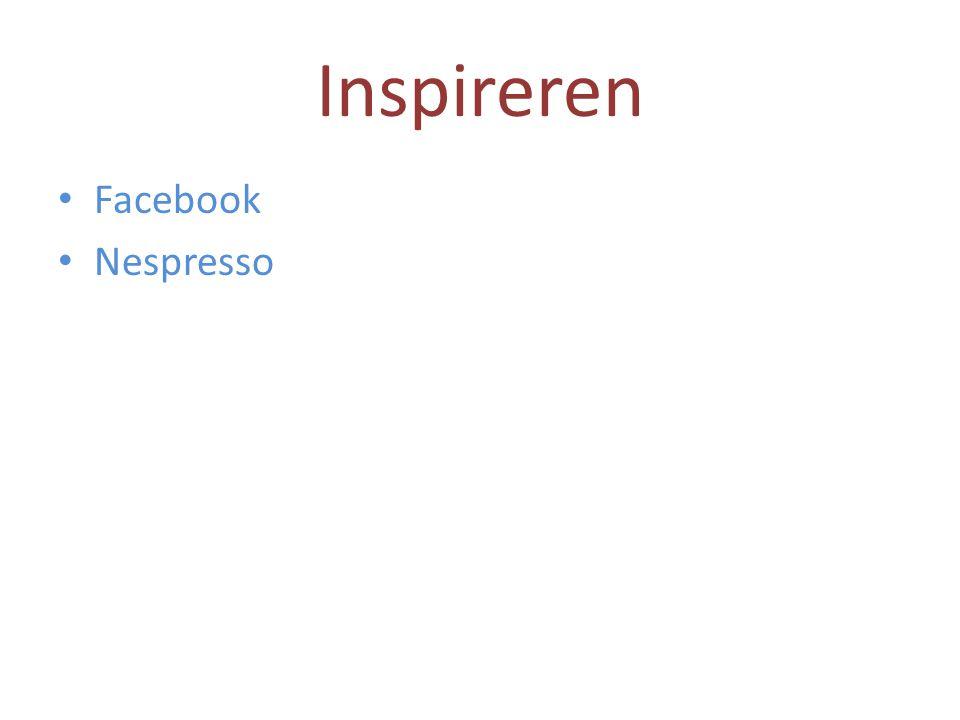 Inspireren • Facebook • Nespresso